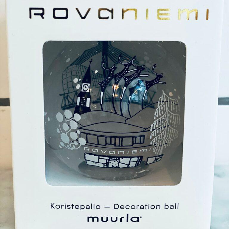 Lasinen pallo Rovaniemi